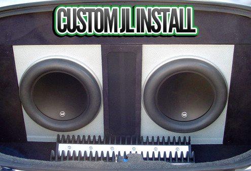 JL Audio Custom Stereo Install Lucky's Autosports