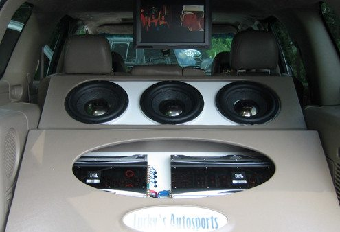 Custom Car Audio Installs Lucky's Autosports