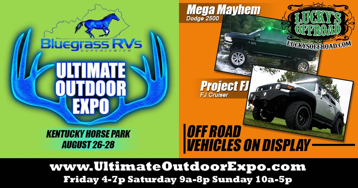 Ultimate Outdoor Expo Lucky's Off Road
