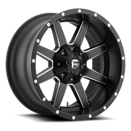 Fuel Mav 20x10 Black Milled D538