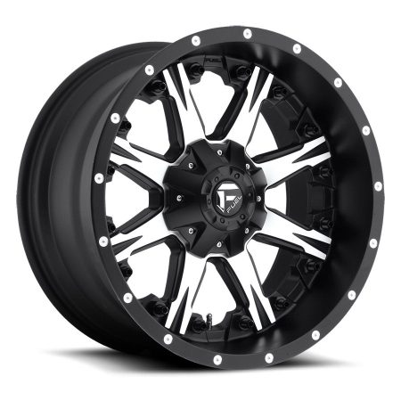 Fuel Nutz 20x10MB D541 Wheels