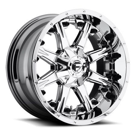 Fuel Nutz 20x10PVD D540 Wheels