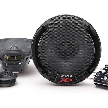 Alpine SPR 50C Speakers Front