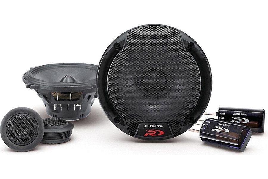 alpine spr 50c component speakers lucky 39 s autosports. Black Bedroom Furniture Sets. Home Design Ideas