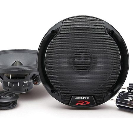 Alpine SPR 60C Speakers Front