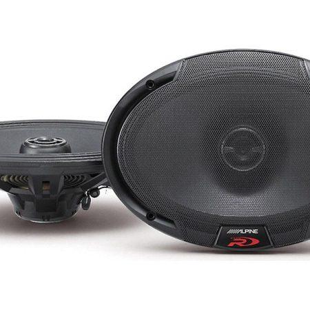 Alpine SPR 69 Speakers Front