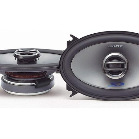 Alpine SPS 406 Speakers Front