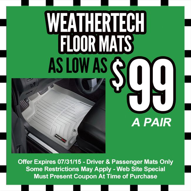 Weathertech coupon codes