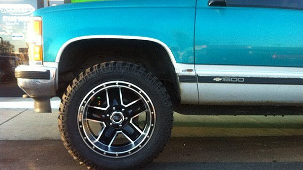Chevy GMC Lifted Truck Off Road Wheels by Lucky's Off Road