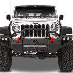Jeep Fab Fours Front Bumpers