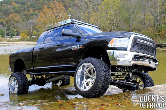 Mega Mayhem Lifted Dodge Ram 2500