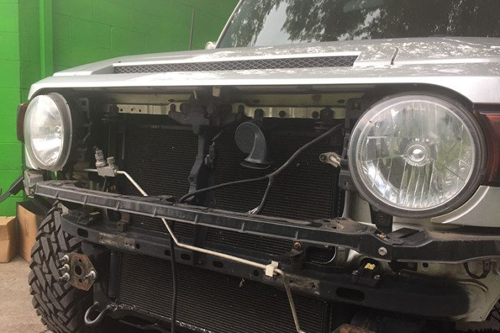 Custom Off Road FJ Cruiser Build
