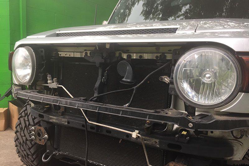 Custom Off Road FJ Cruiser Build