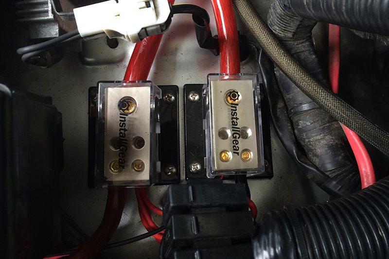 FJ Cruiser LED Lighting Wiring Install