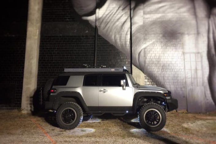 FJ Cruiser Black Rhino Wheels