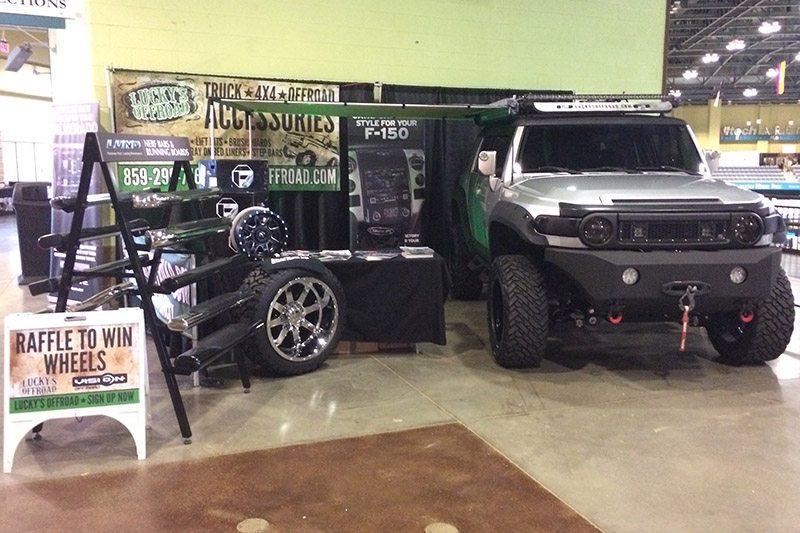 FJ Cruiser Ultimate Outdoor Expo