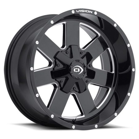 Vision Arc 411 Black Wheels