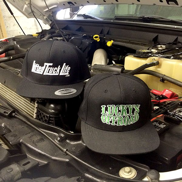 Lucky's Off Road Flat Bill Hats