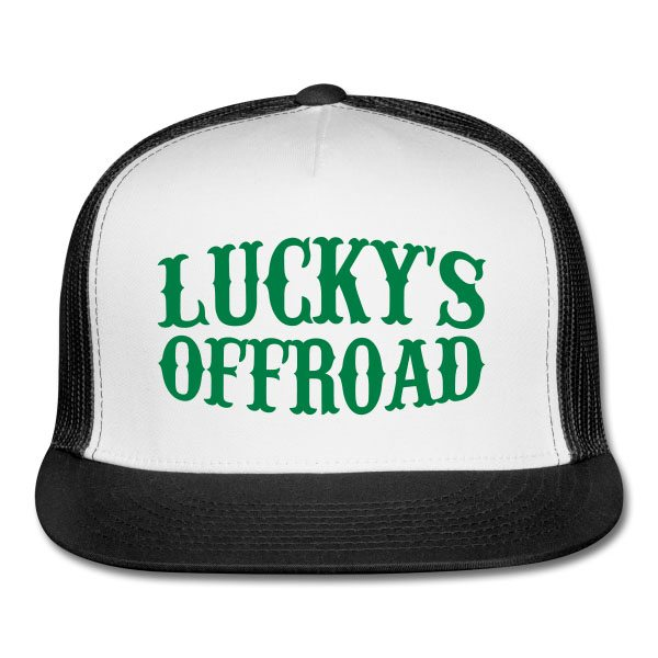 Lucky's Off Road Trucker Hat