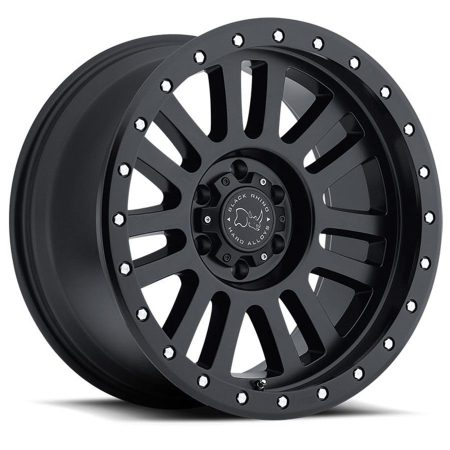 Black Rhino Truck Wheels El Cajun Black