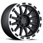 Black Rhino Wheels Revolution Black Machine Lip