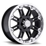 Black Rhino Wheels Rockwell Black Machine Lip