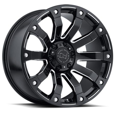 Black Rhino Wheel Selkirk Gloss Black Milled