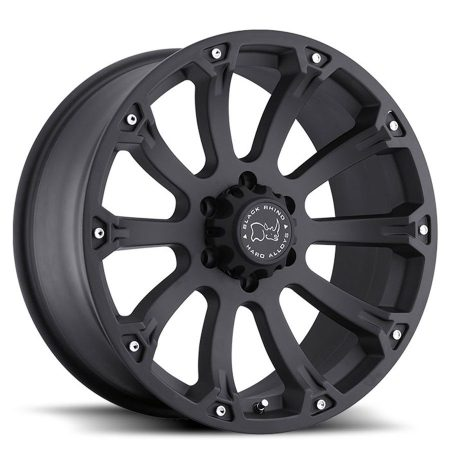 Black Rhino Wheels Sidewinder Matte Black