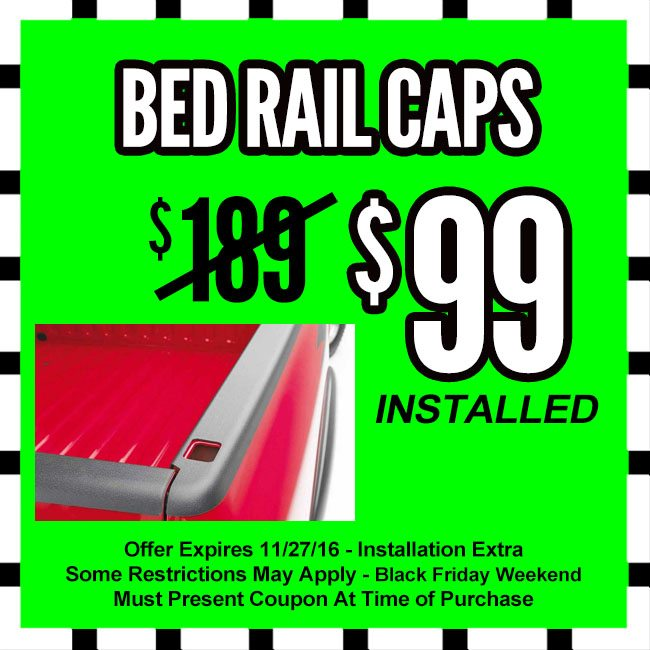 Bed Rail Caps Black Friday