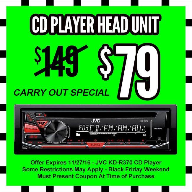 CD Player Black Friday