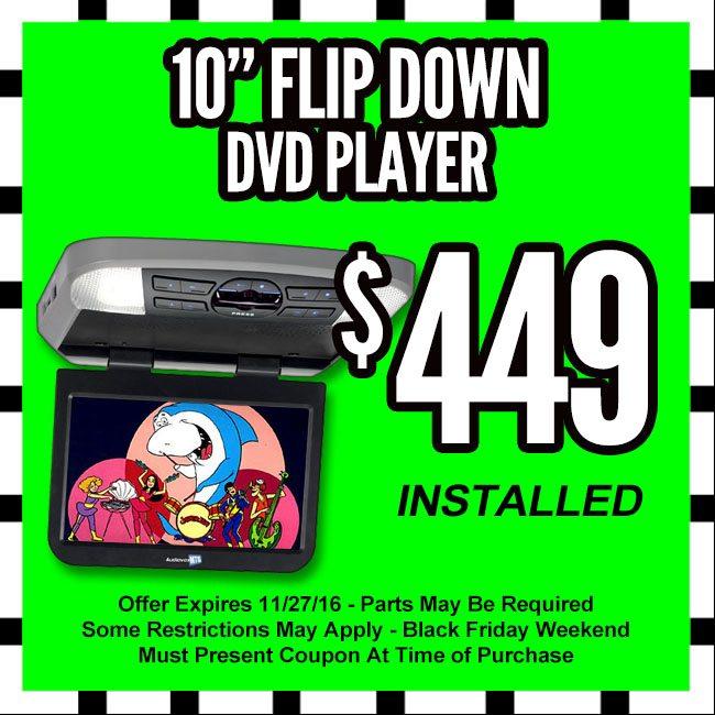 Auto DVD Player Black Friday