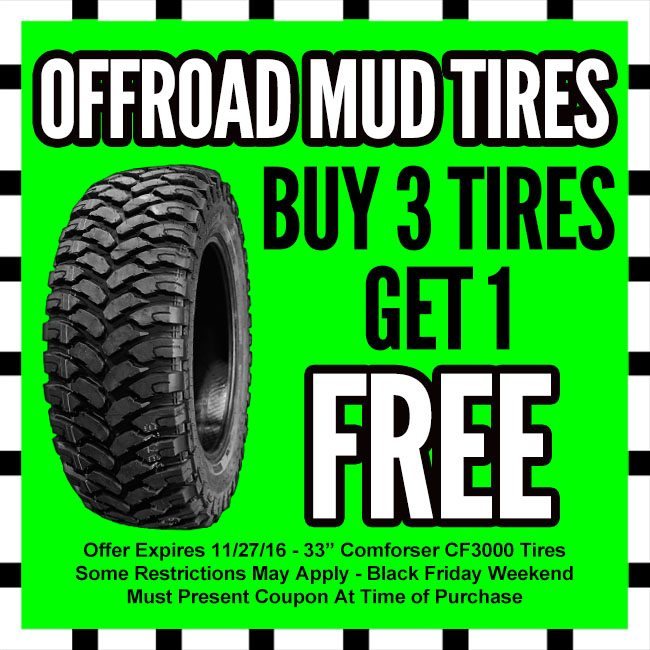 Offroad Mud Tires Black Friday