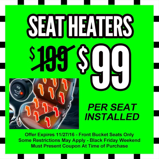 Car Seat Heaters Black Friday