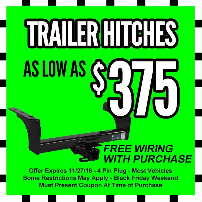 Trailer Hitches Black Friday