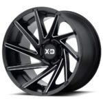 XD Series XD834 Black Wheels