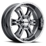 Ultra Predator II 249 Chrome Truck Wheel