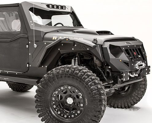 Fab Fours Body Armor and Fenders