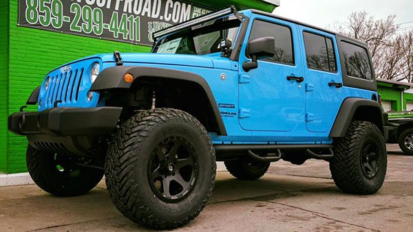 Lucky's Offroad Jeep Build