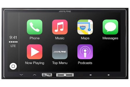 Alpine iLX-107 Wireless Apple CarPlay Head Unit