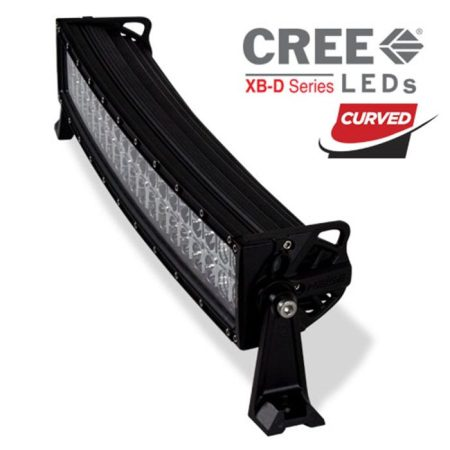 Heise 22-Inch Double Row Curved Light Bar