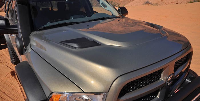 Dodge Ram Heat Reduction Hood