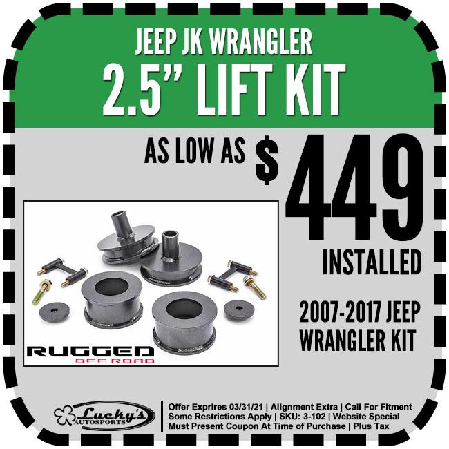 Jeep JK Lifts