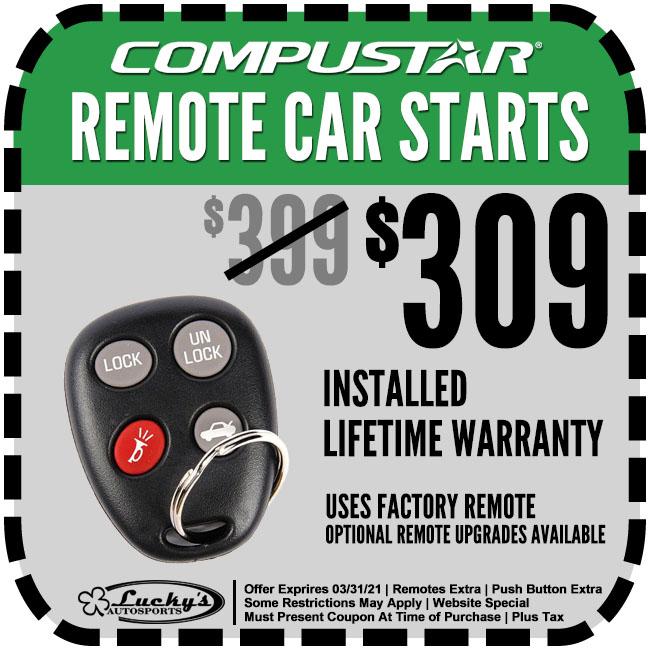 Remote Start Coupon